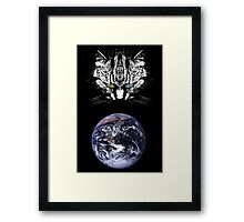 The Tabby Cat - Master of the Universe Framed Print