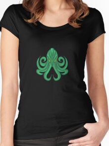 Cthulhu  Women's Fitted Scoop T-Shirt