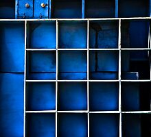 Boxed In Blue by Glen Allison