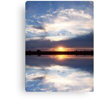 Heaven's Mirror Canvas Print