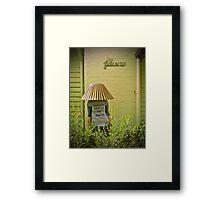 Garden G-nome Framed Print
