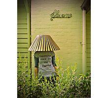 Garden G-nome Photographic Print