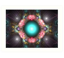 Wired dreams Art Print