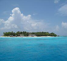 a vast Maldives landscape by beautifulscenes