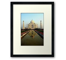 The Most Romantic Building in the World Framed Print