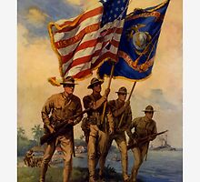 Join The US Marines -- Spirit Of 1917 by warishellstore