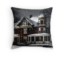 Twilight Snow Throw Pillow