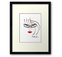 All Girls Rock Framed Print