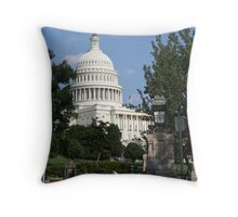 A Capital picture Throw Pillow
