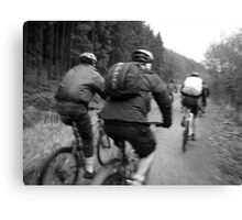 Afan Valley Riders Canvas Print