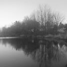 Another Lake Somewhere in Nova Scotia by murrstevens