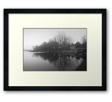 Another Lake Somewhere in Nova Scotia Framed Print