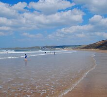 Woolacombe Bay by imageworld