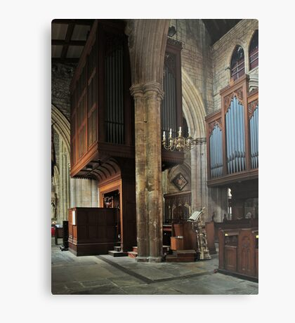 Minster Organ Metal Print