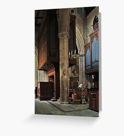 Minster Organ Greeting Card