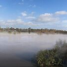 Mist on the Wye by Daveart