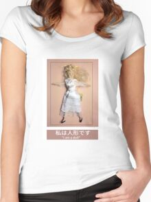 I am a doll Women's Fitted Scoop T-Shirt