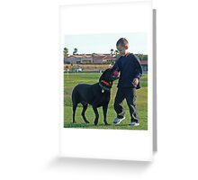 Why We Love Labs Greeting Card