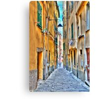 Alley Genoa Canvas Print