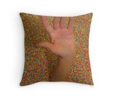 Death by Confection Throw Pillow