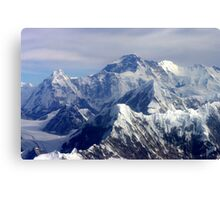 Everest - The Ultimate Challenge Canvas Print
