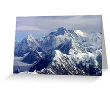 Everest - The Ultimate Challenge Greeting Card