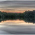 The Sun Dies Over the Tarn by Martin Finlayson