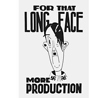 For That Long Face -- More Production Photographic Print