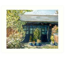 The old studio Barming Kent Art Print