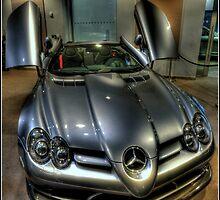 Mclaren Mercedes by Martin Finlayson