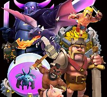 clash of clans by larvasutra