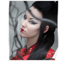 Red geisha Poster