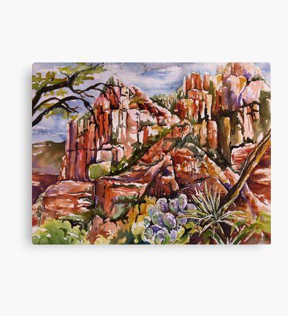 Schnebly Hill - Sedona AZ Canvas Print