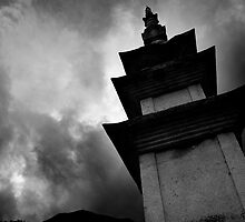 Pagoda - Seongnam Temple, South Korea by Alex Zuccarelli