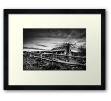 Craig's Hut, Mt Stirling Framed Print