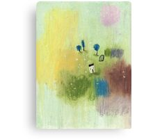 The Cabbage White butterflies' oasis Canvas Print