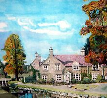 Lower Slaughter Gloucestershire The wind rush by doatley