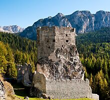 Castello Buchenstein di Andraz, Dolomiti, Italy by Andrew Jones