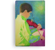 Violin Boy Canvas Print
