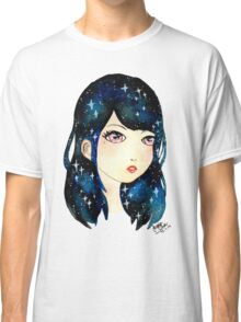 Starry-eyed in space  Classic T-Shirt