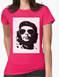 che guevara...the rebel years.... Womens Fitted T-Shirt