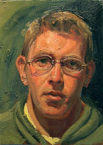 Portrait Art: Self Portrait by Marcus Gannuscio