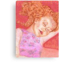 Sleeping Sam Canvas Print