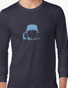VW Beetle -  Light Blue Long Sleeve T-Shirt