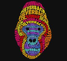 Silverback Gorilla! Colorful Text Design! Unisex T-Shirt