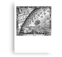 Flammarion Engraving Transparent Canvas Print
