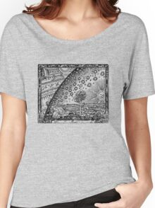 Flammarion Engraving Transparent Women's Relaxed Fit T-Shirt