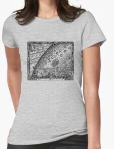 Flammarion Engraving Transparent Womens Fitted T-Shirt