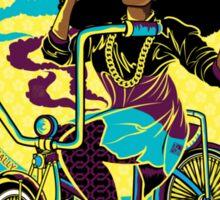 Afro Bike Love Sticker
