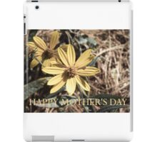 Happy Mother's Day 2 iPad Case/Skin